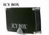 """Raidsonic IB-351AStU-B :: Външна комбинирана кутия за 3.5"""" SATA/IDE HDD, алуминиева, USB 2.0 интерфейс"""