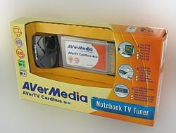 AVerMedia E500 :: ТВ тунер AVerTV Cardbus, PCMCIA