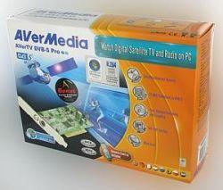 AVerMedia A700 :: ТВ тунер AVerTV Satellite Pro / DVB-S Pro, PCI