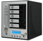 Thecus I5500 :: RAID NAS устройство с iSCSI поддръжка