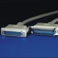 ROLINE 11.01.1030 :: Принтерски кабел, D25M/C36M, 3.0 м, монолитен, 25 проводника