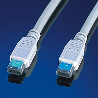 ROLINE 11.02.9230 :: IEEE 1394 Fire Wire кабел, 6/6-pin, 3.0 м