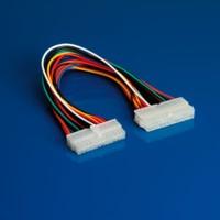 ROLINE 11.03.1016 :: ROLINE ATX 2.0 удължителен захр. кабел, 24 pin, 0.3 м