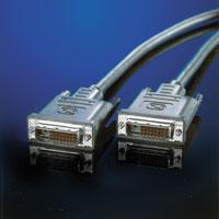 ROLINE 11.04.5520 :: Кабел за монитор DVI M/M, single link, 2.0 м