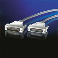 VALUE 11.99.4019 :: IEEE-1284 удължителен кабел, D25 M/F, 1.8 м, 25 проводника
