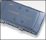 ATEN CS914 :: KVM превключвател, 4х 1, автом., PS2, 1920 x 1440