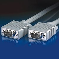 VALUE 11.99.5206 :: VGA кабел HD15 M/M, 3C+4, 6.0 м