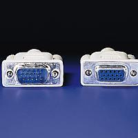 VALUE 11.99.5302 :: VGA кабел HD15 M/F, 3C+4, 2.0 м, удължителен кабел