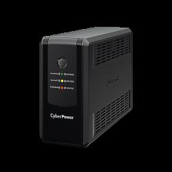 CyberPower UT850EG :: UT Series UPS устройство, 850VA, Шуко x 3, RJ-45