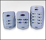 ATEN VS82 :: Compact видео сплитер, 2x 1, 150 MHz, 65 м