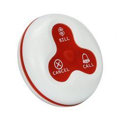 Y-A3 :: Бутон за безжично повикване, 3 клавиша, 300 м обхват, зелен