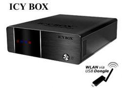 """Raidsonic IB-MP3010HW :: Мултимедиен мрежов плейър и рекордер, 3.5"""" гнездо за HDD, HDMI, WLAN"""