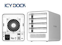 """Raidsonic MB-561US-4S :: Външна кутия за 4x 3.5"""" SATA HDD, собствено захранване, USB 2.0 и Port Multiplier eSATA интерфейс"""