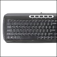 Saitek PK10 :: Клавиатура Ultra Slim Compact Keyboard, бяла