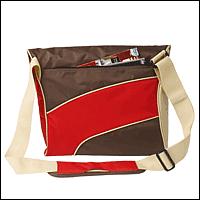 "Trust 15852 :: Чанта за лаптоп, 15.4"", Street Style, кафяво-червена"