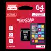 GOODRAM M1AA-0640R11 :: 64 GB MicroSDXC карта с адаптер, Class 10, UHS-1