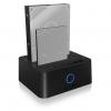 RAIDSONIC IB-123CL-U3 :: USB 3.0 UASP докинг станция за 2.5'' и 3.5'' SATA дискове, клониране на дискове + JBOD