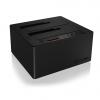 """RAIDSONIC IB-121CL-C31 :: Type-C™ докинг станция за 2.5"""" и 3.5"""" SATA дискове, клониране на дискове"""