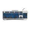 WHITE SHARK GK-1623 :: Геймърска клавиатура Gladiator, метална база