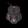 WHITE SHARK GM-9002 :: Геймърска мишка Lancelot, 6400dpi, Черна