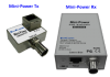 ENCONN EOC Mini-Power :: PoE + Ethernet Over Coax екстендър, 10/100 Mbps, 300 м max, RG59 + RG6