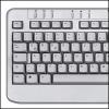 Saitek PK05AV :: Клавиатура Slimline Aluminium Keyboard
