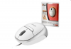 Trust 15489 :: Оптична мини-мишка, прибиращ се кабел, MI-2850SP, бяла
